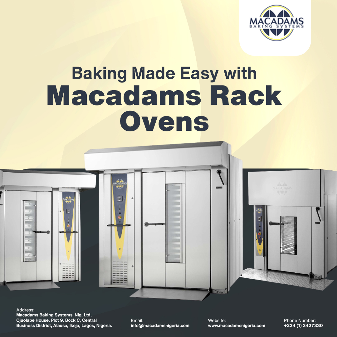 The Wonder of Macadams Rotary Rack Ovens
